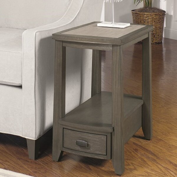 Dunhill End Table With Storage By Breakwater Bay Looking for