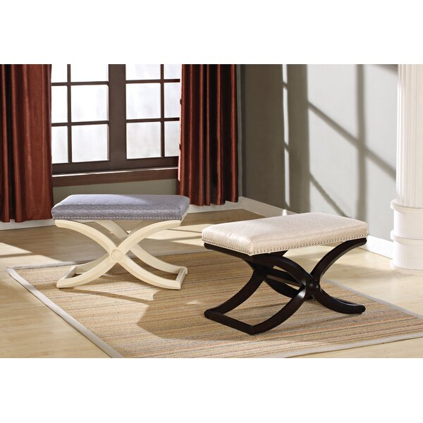 Berwyck Upholstered Bench by Charlton Home