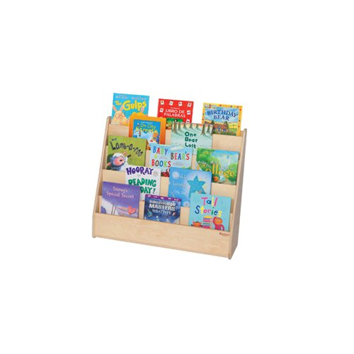 Flush Marker Board Book Display by Wood Designs
