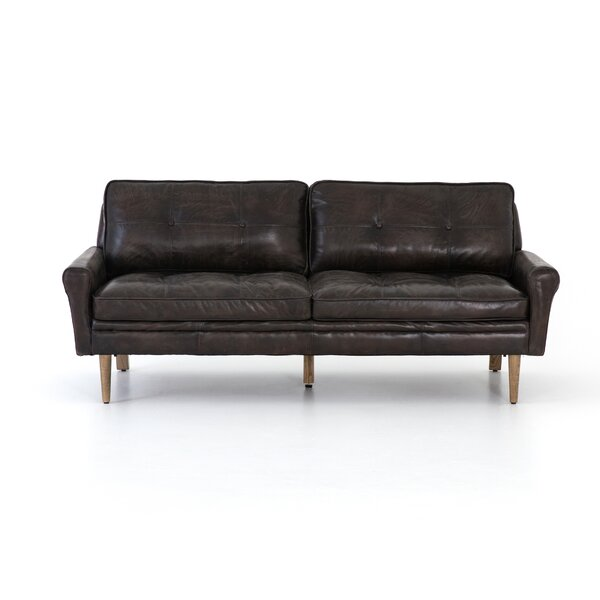 Steinway Leather Sofa -75