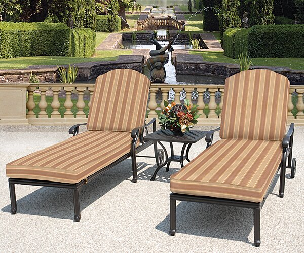 Laneon Recliner Sunbrella Seating Group with Cushions by Art Frame Direct