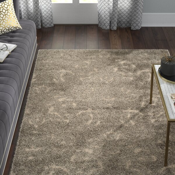 Gustav Light Smoke/Beige Area Rug by Willa Arlo Interiors