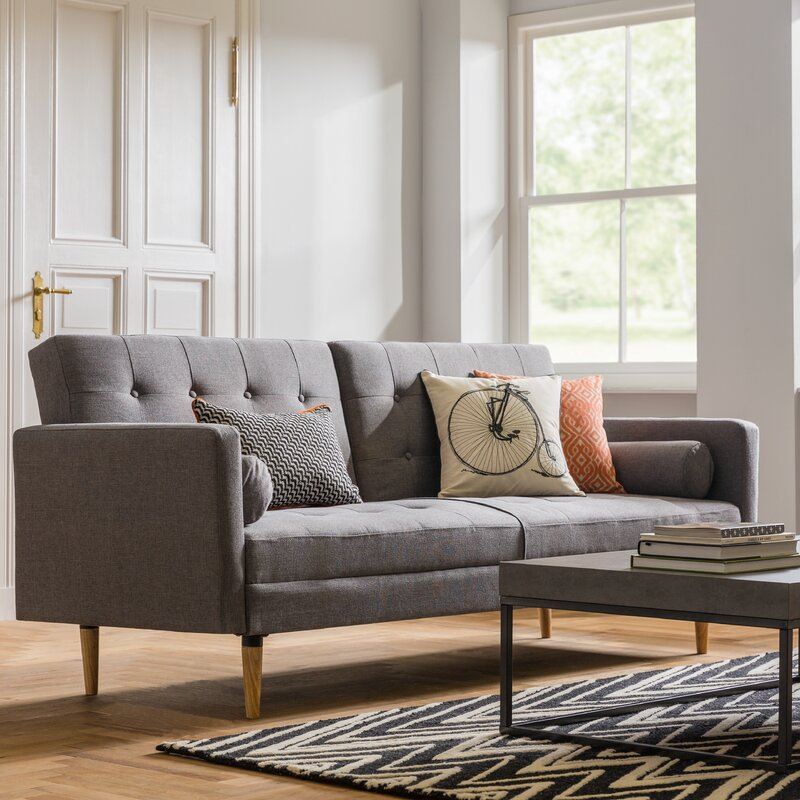 Mercury Row Gaius 3 Seater Sofa Bed & Reviews   Wayfair.co.uk