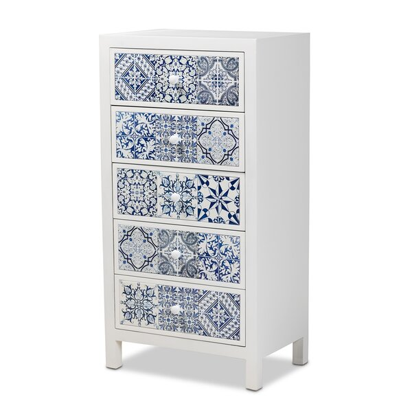 Digeni 5 Drawer Accent Chest by Bloomsbury Market Bloomsbury Market