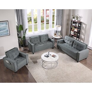 Morden Style Couch Furniture Upholstered Armchair, Loveseat For Home Or Office by Latitude Run®