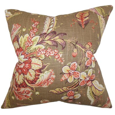 Andruska Toile Cotton Throw Pillow