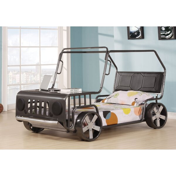 Germaine Jeep Twin Car Bed by Zoomie Kids