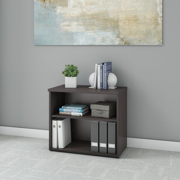 2 Shelf Standard Bookcase by Bush Business Furniture