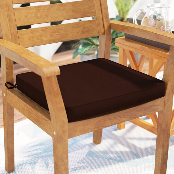Indoor/Outdoor Sunbrella Dining Chair Cushion by Bay Isle Home