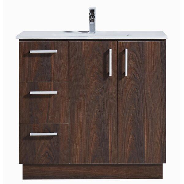 36 Single Bathroom Vanity Set by InFurniture36 Single Bathroom Vanity Set by InFurniture