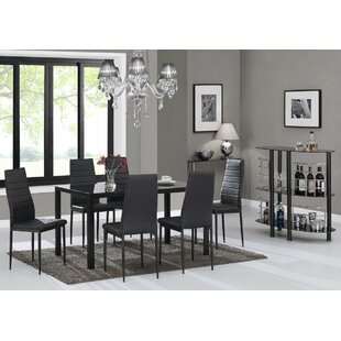 Rosenzweig Dining Set (Set Of 7)