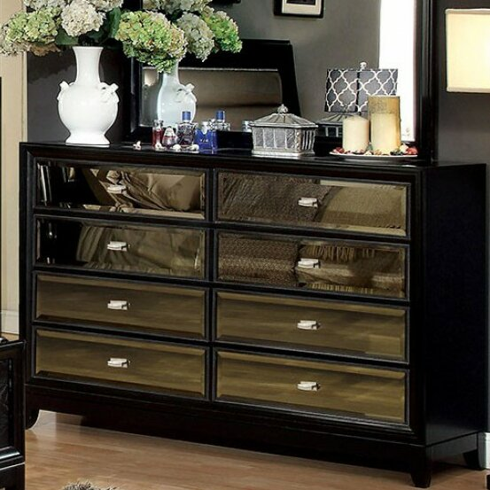 Maddison Enchanting 8 Drawer Double Dresser by Everly Quinn