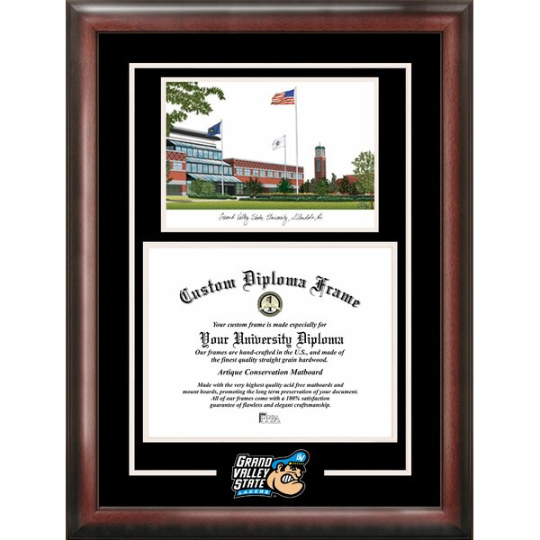 NCAA Grand Valley State Lakers Spirit Graduate Picture Frame by Campus Images