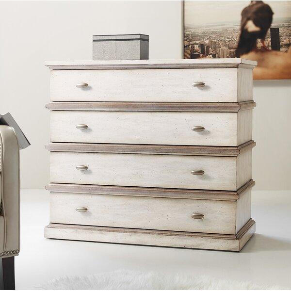 Melange Seeker 4 Drawer Chest by Hooker Furniture