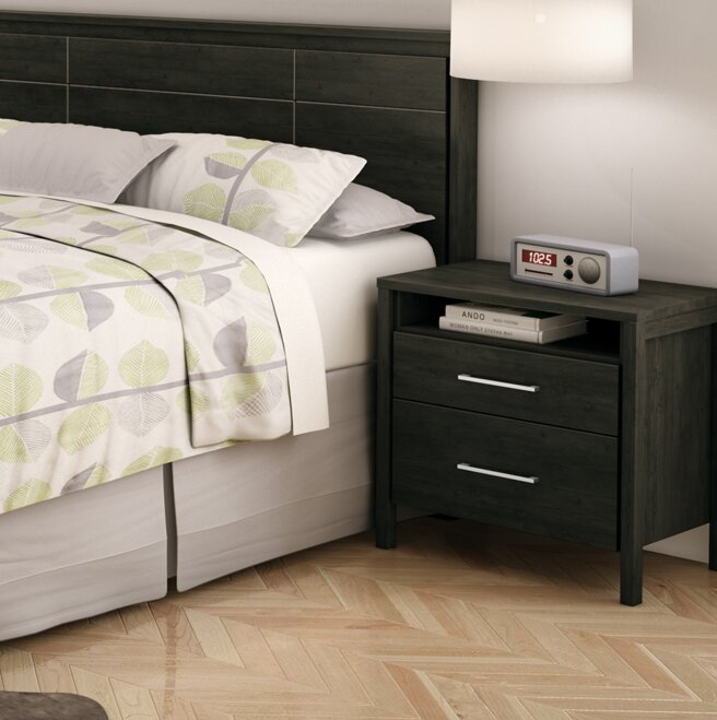 South Shore Gravity 2 Drawer Nightstand & Reviews