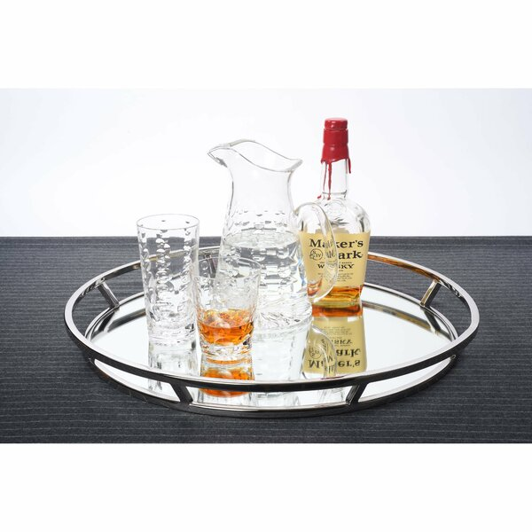 Finleyville Round Serving Tray by Wade Logan