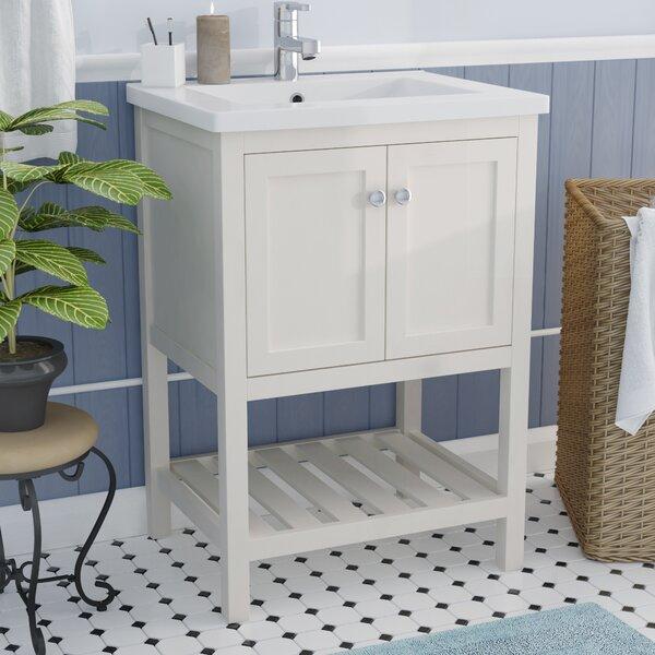 @ Hagins 24 Single Bathroom Vanity Set by Winston Porter| #$0.00!