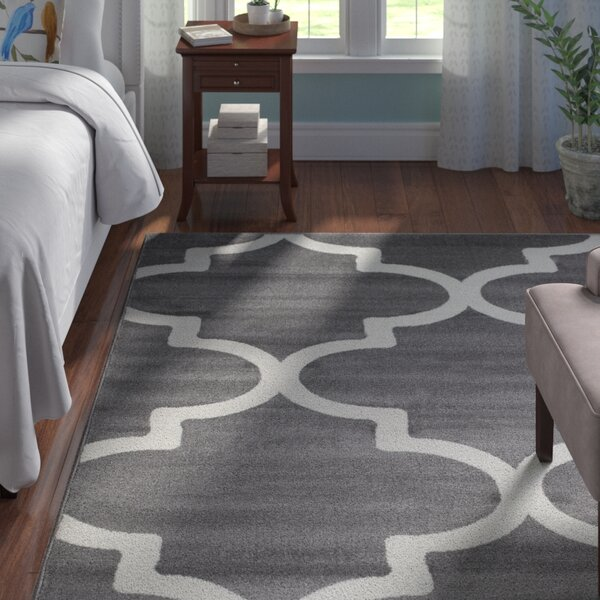 Frieda Gray Indoor Area Rug by Andover Mills