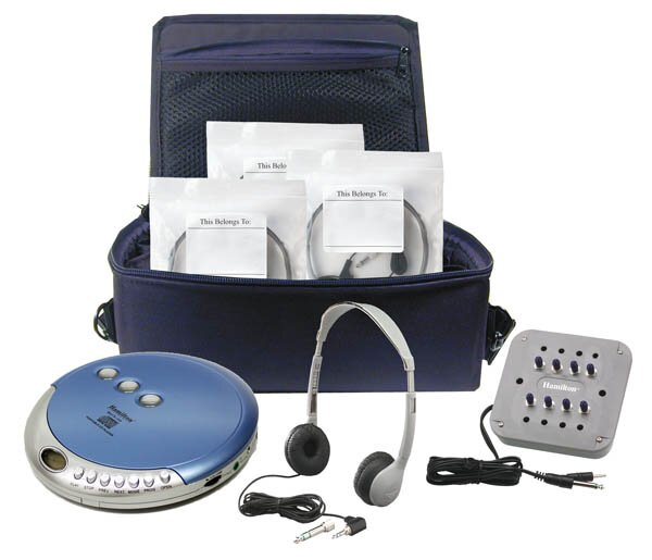 Ultra Portable CD Listening Center by Hamilton Buhl