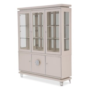 Glimmering Heights Standard China Cabinet by Michael Amini (AICO)
