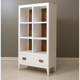 Devon Standard Bookcase with Drawer by Newport Cottages