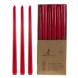 Mega Taper Candle (Set of 12)