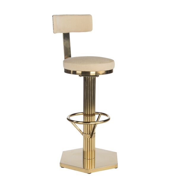 Candace 28 Swivel Bar Stool by Rosdorf Park