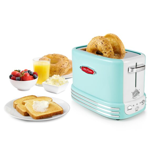 2-Slice Retro Series Toaster by Nostalgia
