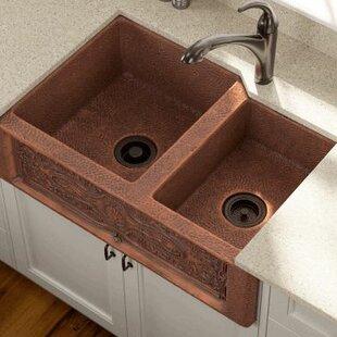 Brown Kitchen Sink 33 inch apron sink wayfair 3325 x 2225 double farmhouse kitchen sink workwithnaturefo