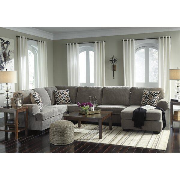 Ellicottville U-Shaped Sectional by Charlton Home