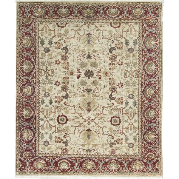 Templeton One-of-a-Kind Hand-Knotted Wool Beige Area Rug by Bokara Rug Co., Inc.