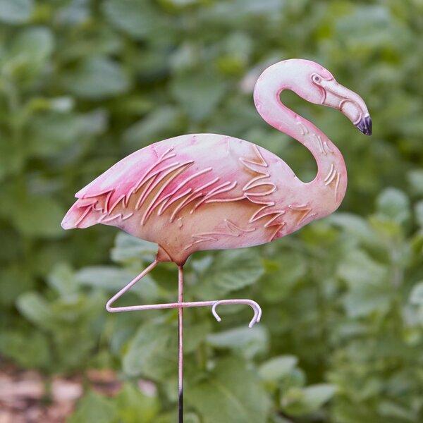 Flamingo Garden Stake by Eangee Home Design