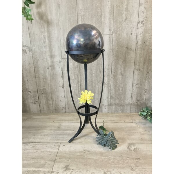 Niraj Copper Gazing Globe by Latitude Run