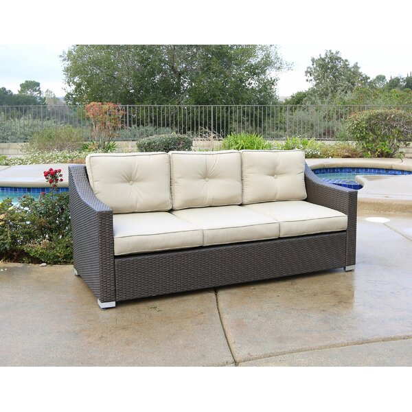 Leib Patio Sofa with Cushions by Latitude Run Latitude Run