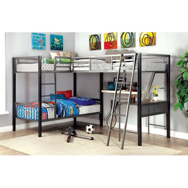 Celentano Twin L-Shaped Bunk Bed by Isabelle & Max