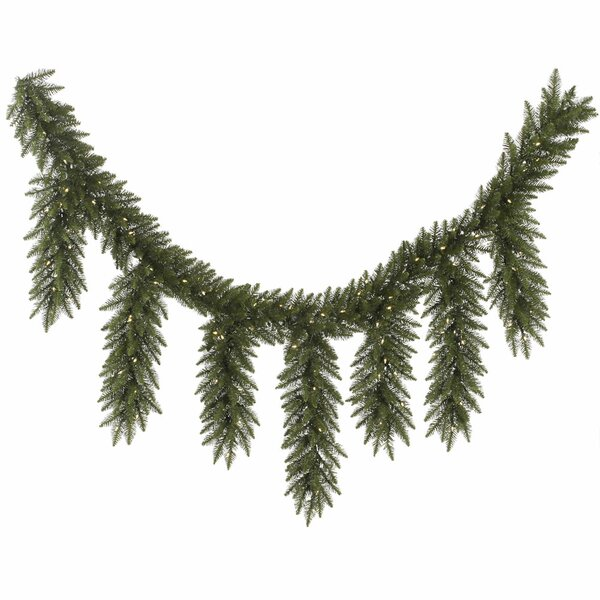 Camdon Fir Artificial Icicle Christmas Garland with Lights by Vickerman