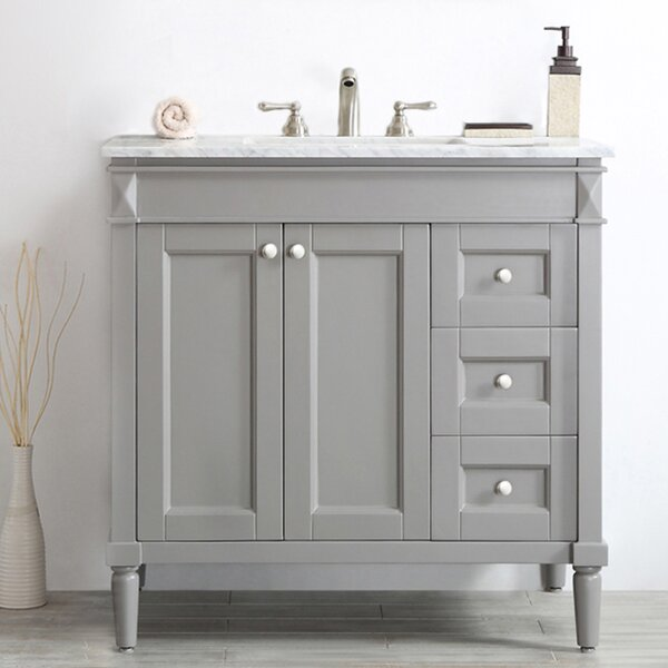 Millfield 37 Single Bathroom Vanity Set by Andover Mills