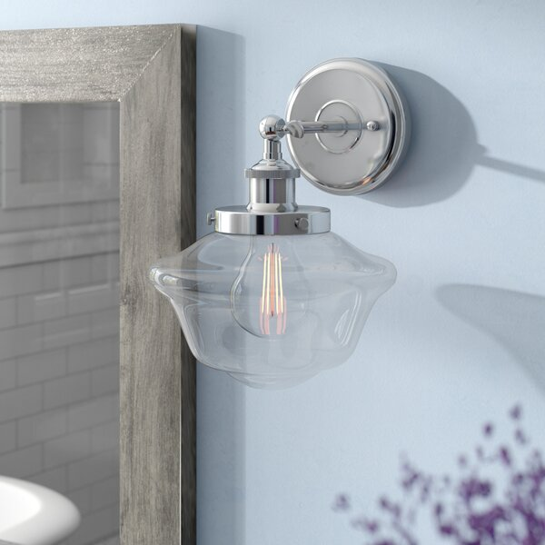 Hildred 1 Light LED Bath Sconce [Laurel Foundry Modern Farmhouse]
