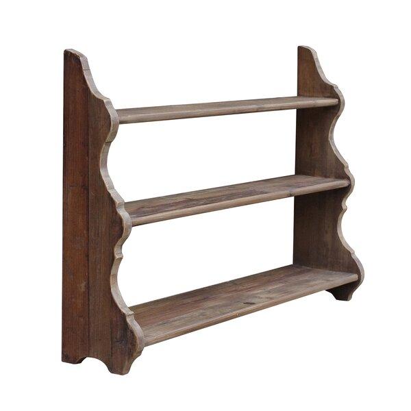 Pine 3-tier Shelf by White x White