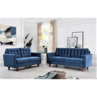 Leicester 2 Piece Living Room Set by Corrigan Studio®