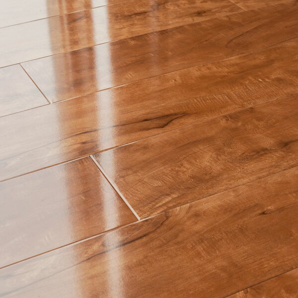 5 x 48 x 12mm Pine Laminate Flooring in Toffee Cherry by Kronoswiss
