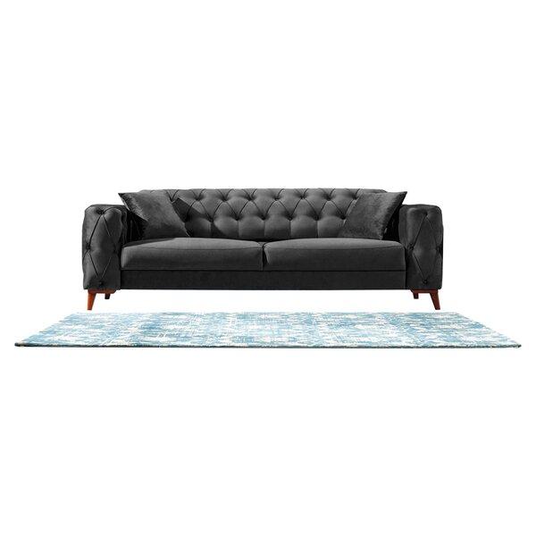 Raghul 91'' Square Arm Sofa Bed by Brayden Studio Brayden Studio®