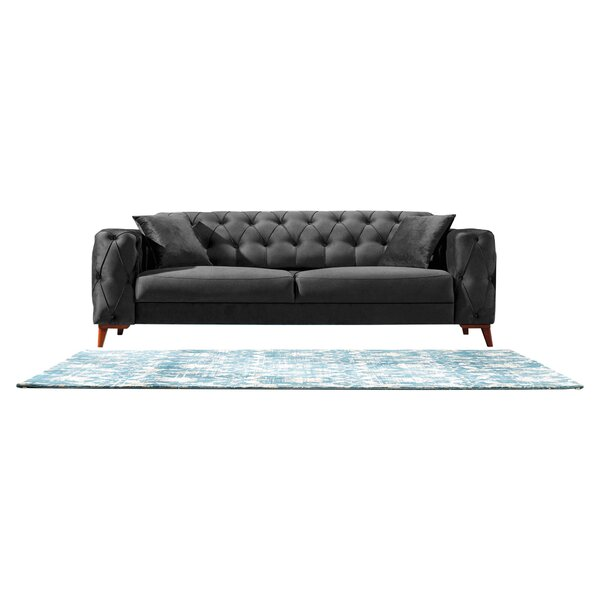 Raghul 91'' Square Arm Sofa Bed By Brayden Studio®