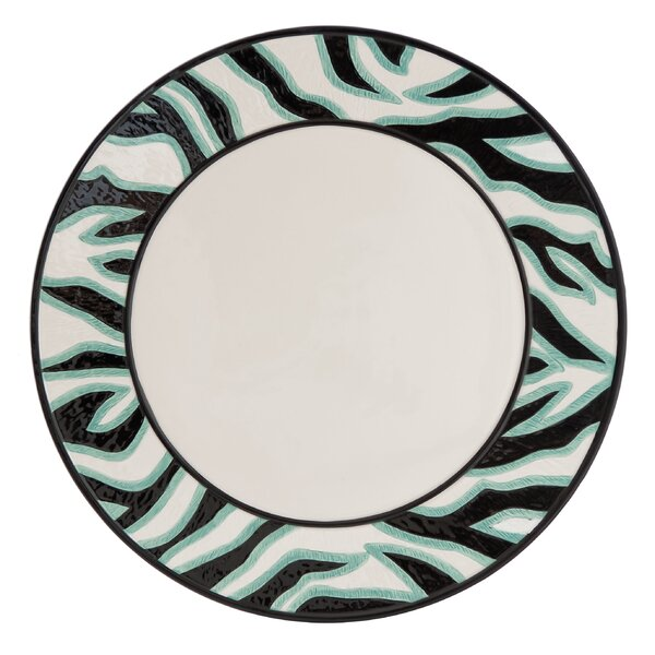 Cockatoo Round Platter by Fitz and Floyd