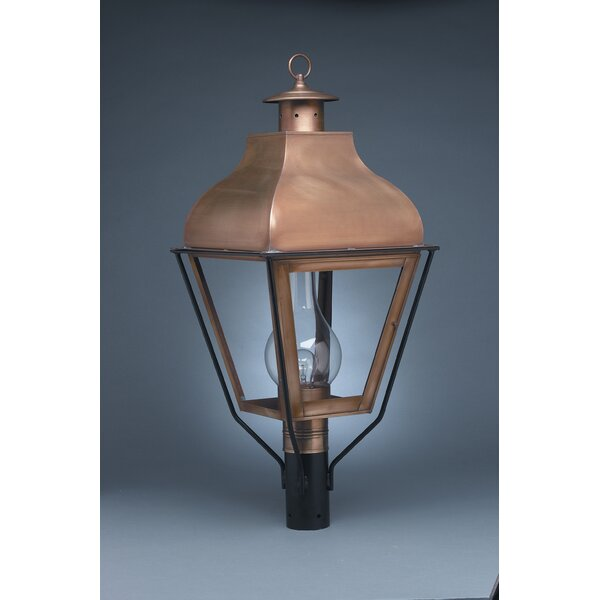 Stanfield Chimney Curved Top 1-Light Lantern Head by Northeast Lantern