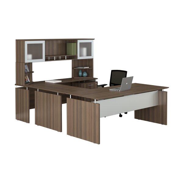 Medina 8-Piece U-Shape Desk Office Suite by Mayline Group