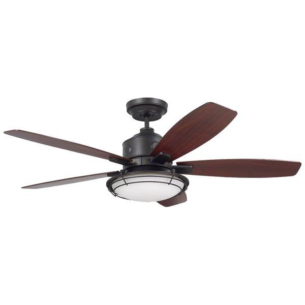 54 Jeanine 5 Blade Outdoor Ceiling Fan by Longshore Tides
