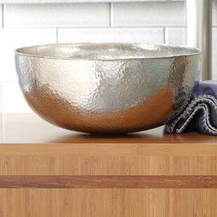 Maestro Metal Circular Vessel Bathroom Sink ByNative Trails, Inc.