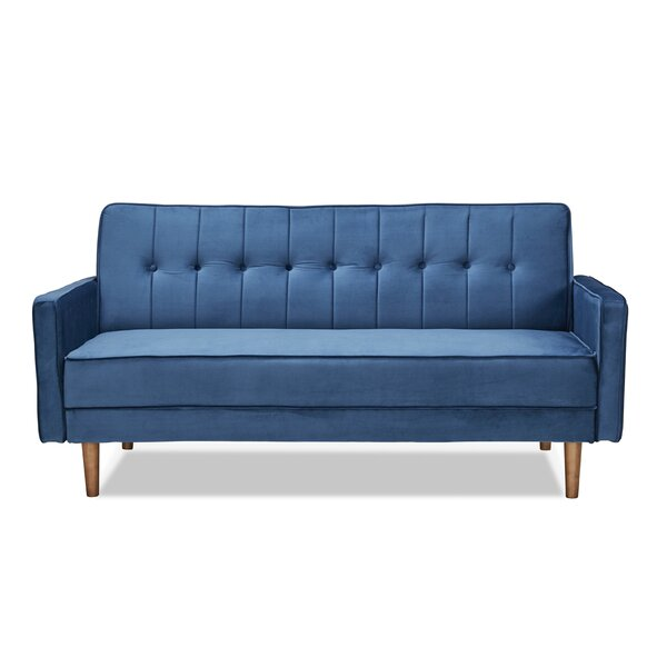 Tackett Convertible Loveseat by Everly Quinn