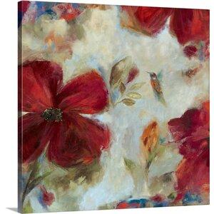 Hummingbird II by Asia Jensen Painting Print on Wrapped Canvas by Great Big Canvas